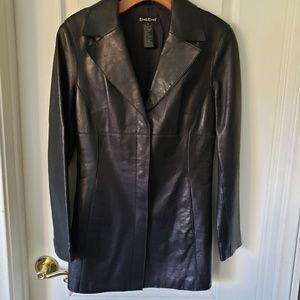 Bebe Genuine Leather Jacket Size Small